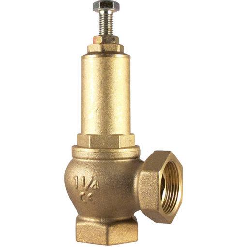 Brass Pressure Release Valve - Female BSP Thread