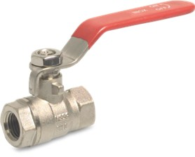 Brass Lever Ball Valve, Female BSP Thread upto 25-bar pressure