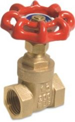 Brass Gate Valve Female BSP Thread 16 bar
