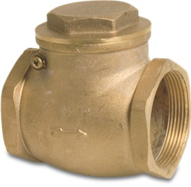 Brass Swing Check Valve 10Bar Female BSP Thread