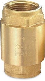 Brass Spring Loaded Non Return Valve Female BSP Thread