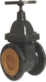 Caste DN Flanged Wheel Gate Valve