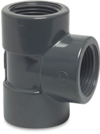 PVC threaded Tee Piece