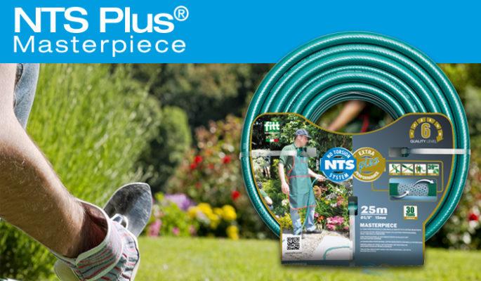 NTS Plus Braided Irrigation Garden Hose - Irrigation Supplies UK