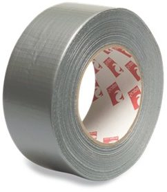 Silver Duct Tape – 50mm x 50mtrs – PVC-UV Stabilised.