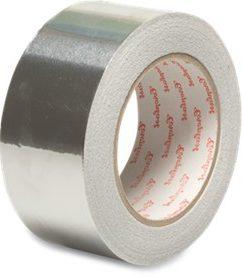 Silver Aluminium Tape – 50mm x 50mtrs