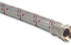 Pump Pressure Set – Galvanised Steel Braided Hose 1″ Male x 1″ Female