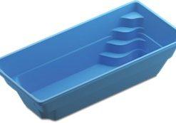 Fibreglass Pre-Fab Swimming Pool – Colorado – Blue